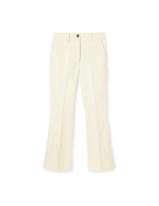 rinascente Momonì Velvet cropped trousers Indra
