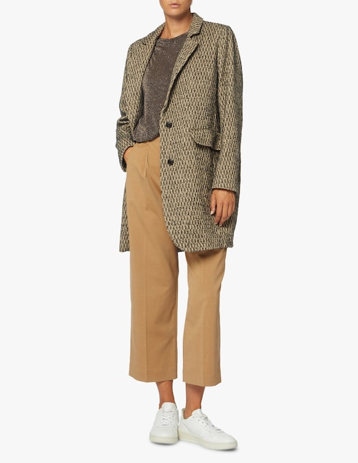 rinascente Momonì Cotton blend blazer Nanterre