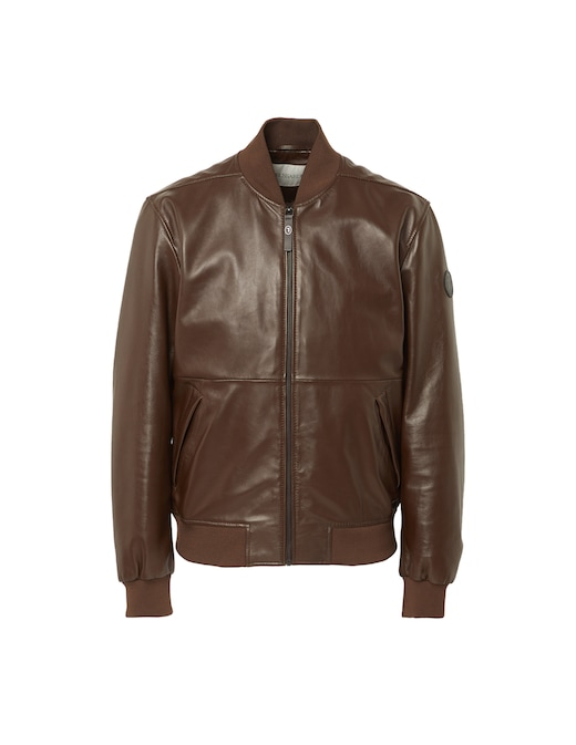rinascente Trussardi Soft touch leather jacket