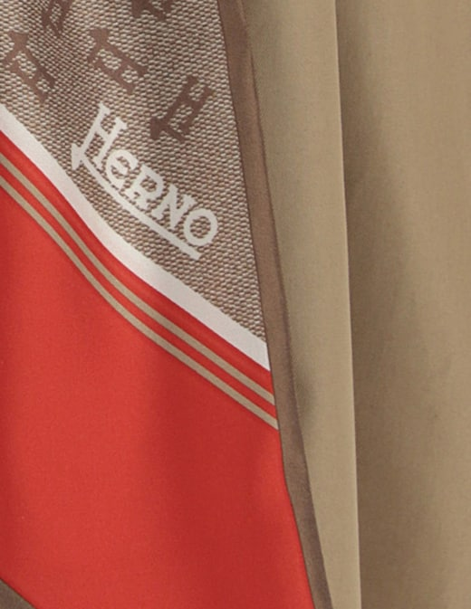 rinascente Herno Trench foulard