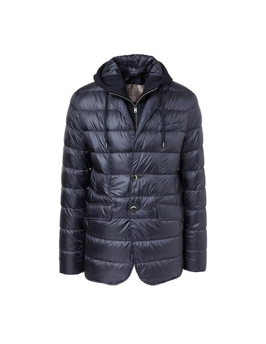 rinascente Herno Ultralight nylon and textile jacket