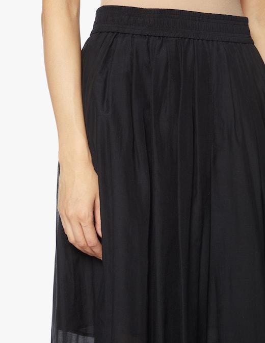 rinascente Marella Marche cotton and silk skirt pant