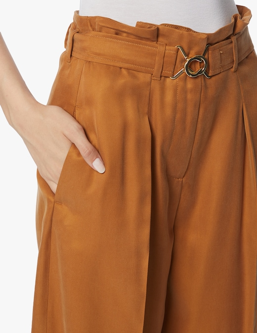 rinascente Marella Pantaloni a carota in misto viscosa Scafati