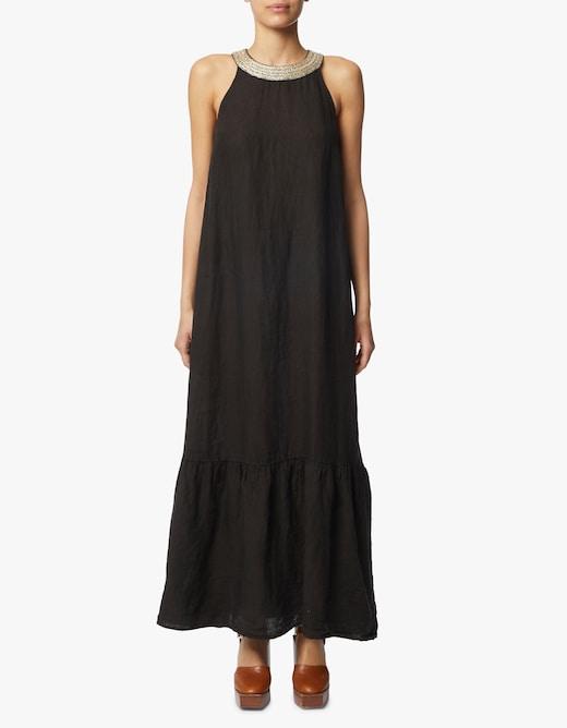 rinascente 120% Lino Linen sleeveless long dress