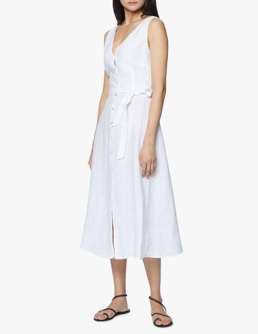 rinascente 120% Lino Linen long sleeveless dress