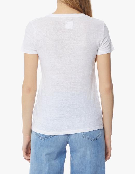 rinascente 120% Lino T-shirt manica corta in lino