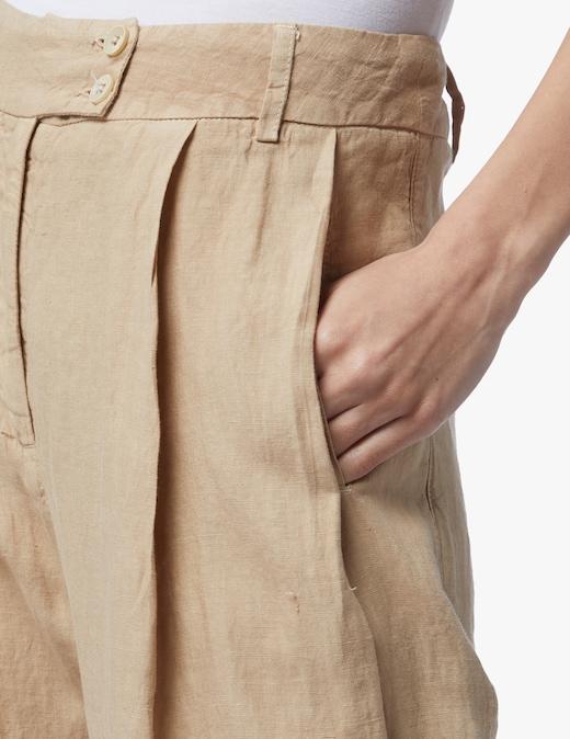 rinascente 120% Lino Linen wide-leg trousers