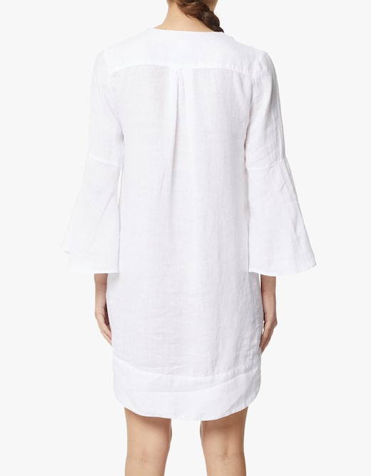 rinascente 120% Lino V-neck tunic midi dress