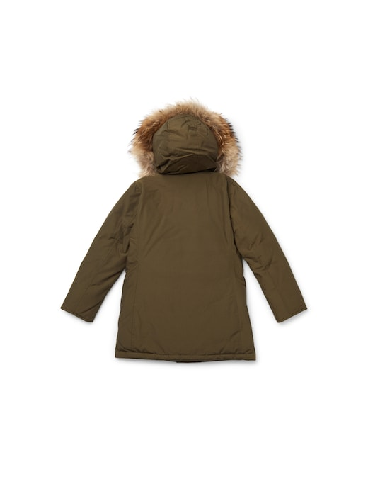 rinascente Woolrich Parka with removable fur