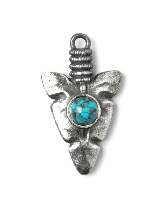 rinascente NOVE25 Collana pendente punta freccia turchese f060 l70