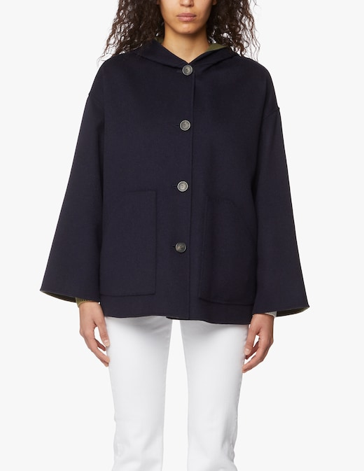 rinascente Weekend by Max Mara Giacca revesibile in lana Jolly