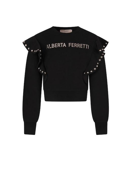 rinascente Alberta Ferretti Felpa in cotone
