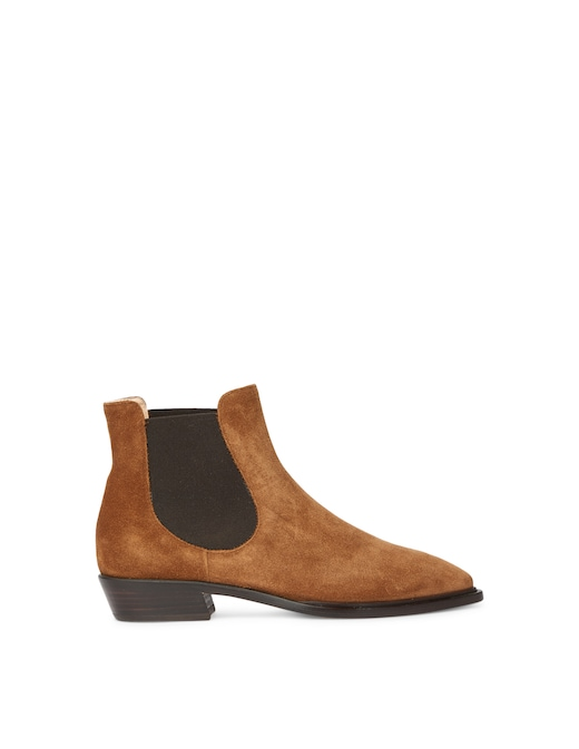 rinascente AGL Suede chelsea booties Mahe