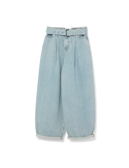 rinascente Armani Exchange Wide leg jeans with belt