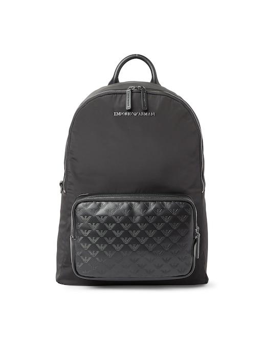 rinascente Emporio Armani Eagle pocket backpack