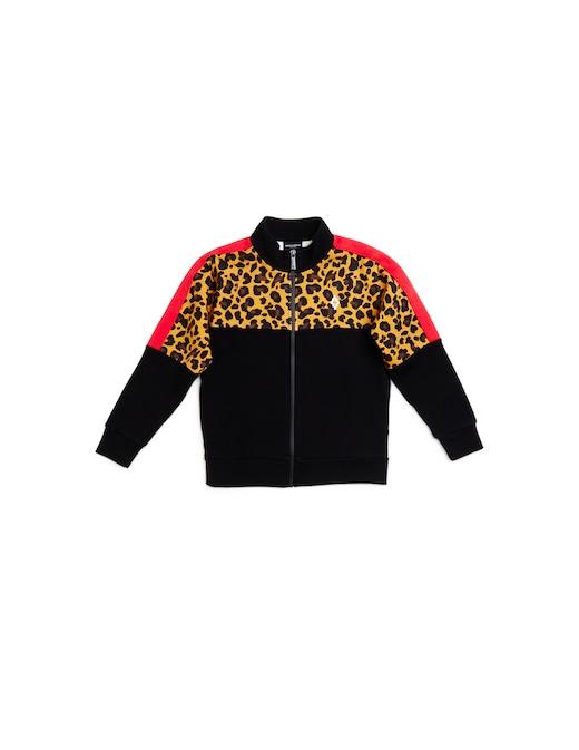 rinascente Marcelo Burlon Full zip sweatshirt All Over Leo