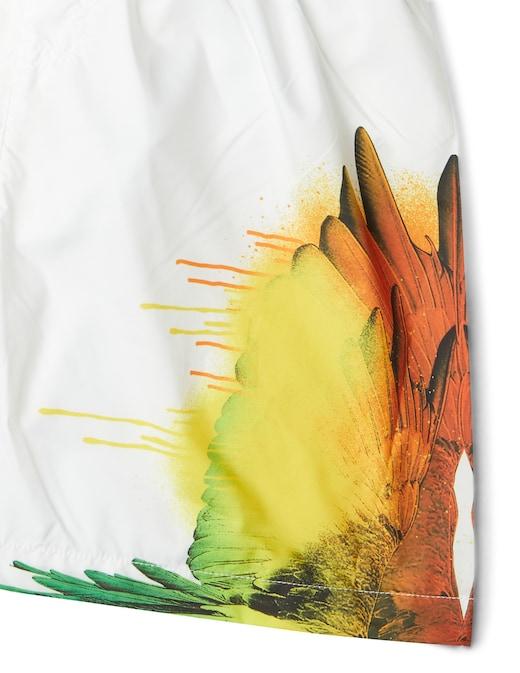 rinascente Marcelo Burlon Wings spray swimsuit