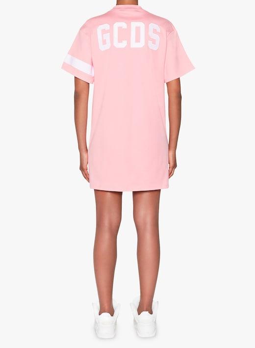 rinascente GCDS Vestito mini in cotone con logo