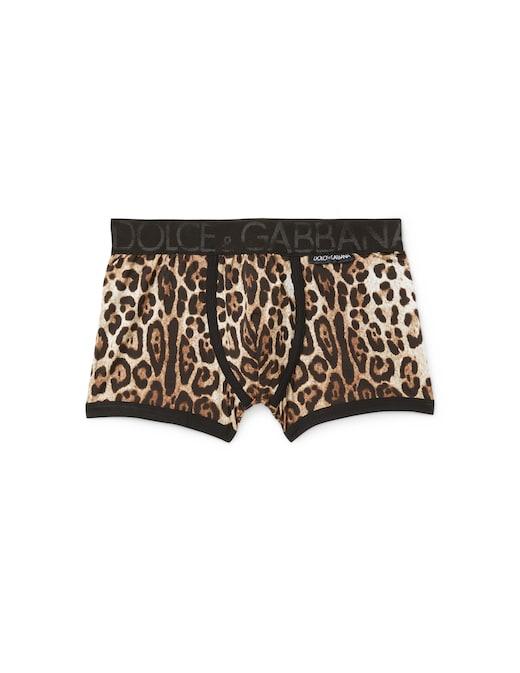 rinascente Dolce & Gabbana Boxer leopard