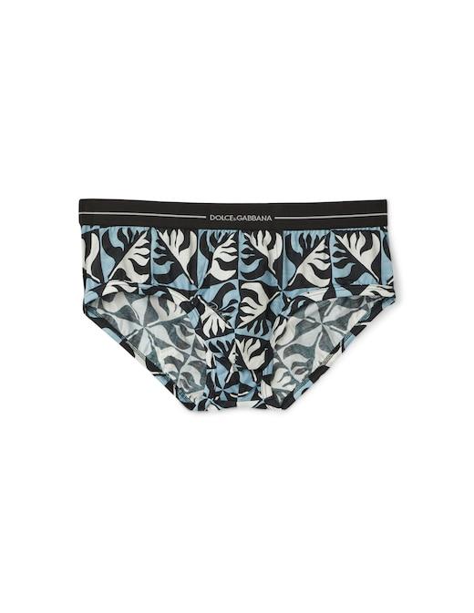 rinascente Dolce & Gabbana Parco dei principi print logo brief