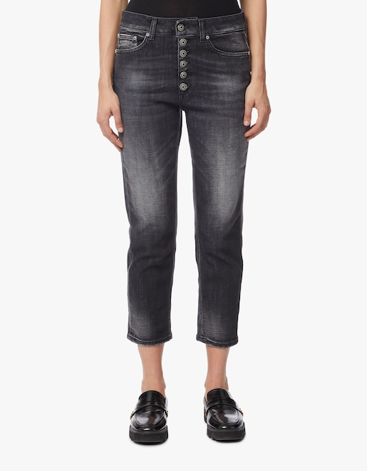 rinascente Dondup Koons boyfriend jeans