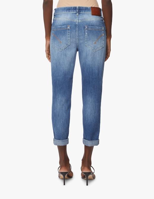 rinascente Dondup Jeans crop a vita media Zoe