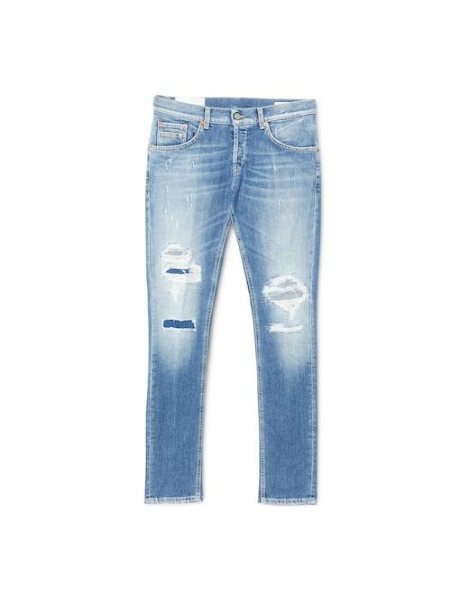 rinascente Dondup Slim ritchie jeans