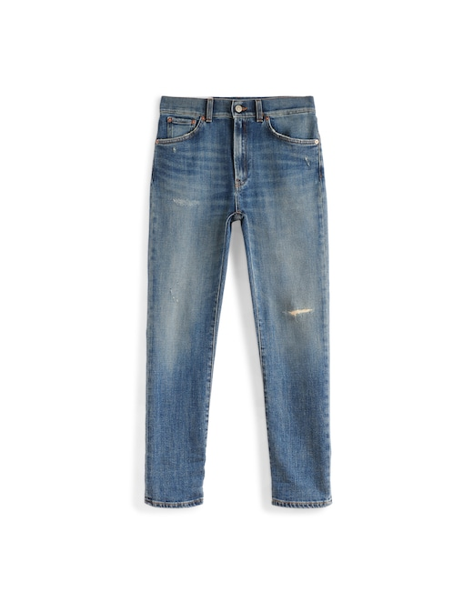 rinascente Dondup High rise straight jeans