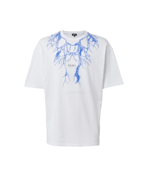 rinascente Phobia T-shirt Blue Lighting