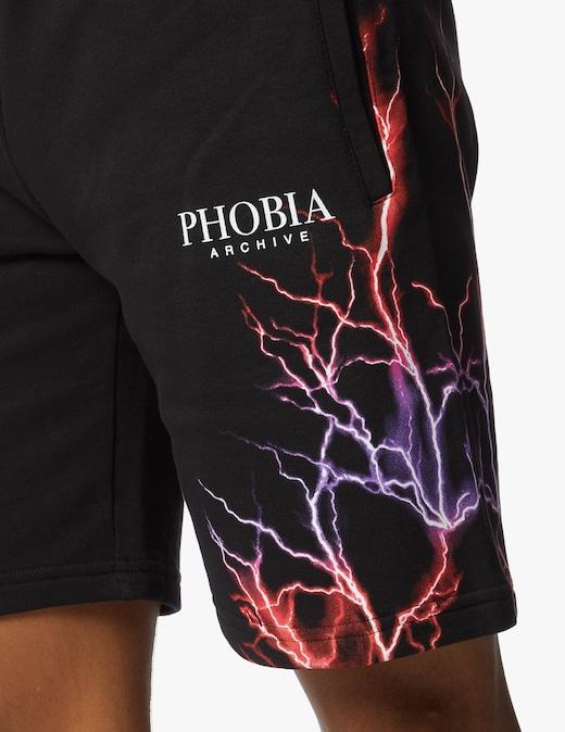 rinascente Phobia Pantaloni corti con fulmine