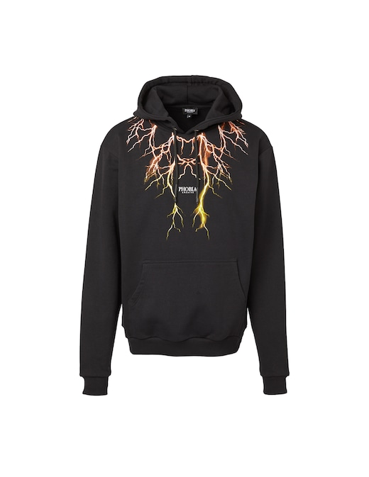 rinascente Phobia Hoodie with lightning
