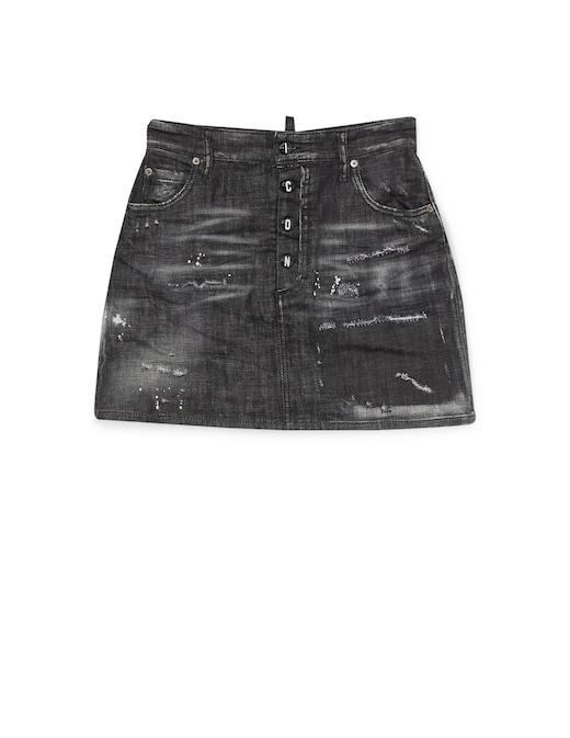 rinascente Dsquared2 Denim mini skirt