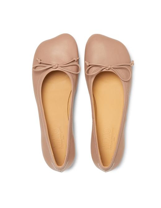 rinascente MM6 Maison Margiela Ballerine con forma piede