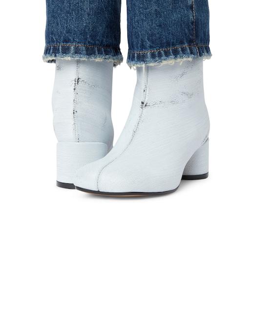 rinascente MM6 Maison Margiela Stivali con tacco e gambale di jeans