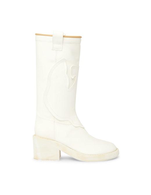 rinascente MM6 Maison Margiela Leahter boots