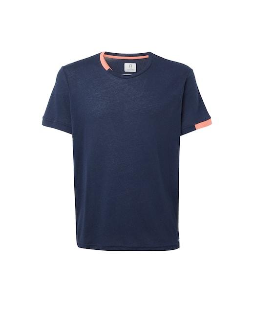 rinascente Rifò La t-shirt in cotone riciclato morandi