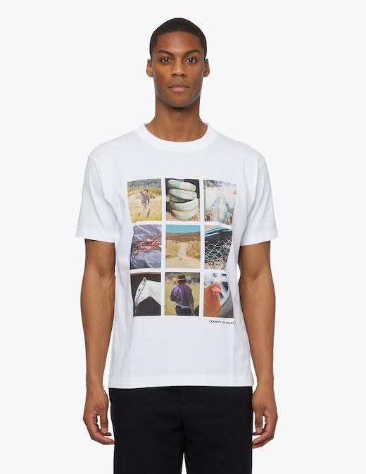 rinascente Marcelo Burlon Photo puzzle t-shirt