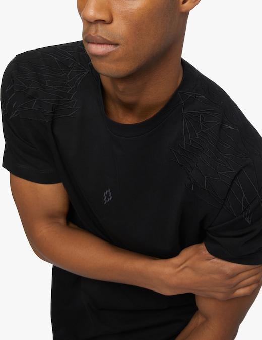rinascente Marcelo Burlon Shoulder wings t-shirt
