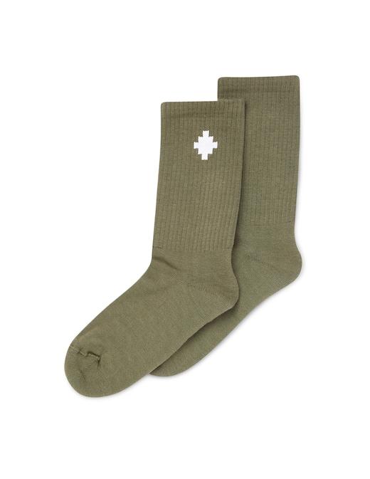 rinascente Marcelo Burlon Logo cross high socks