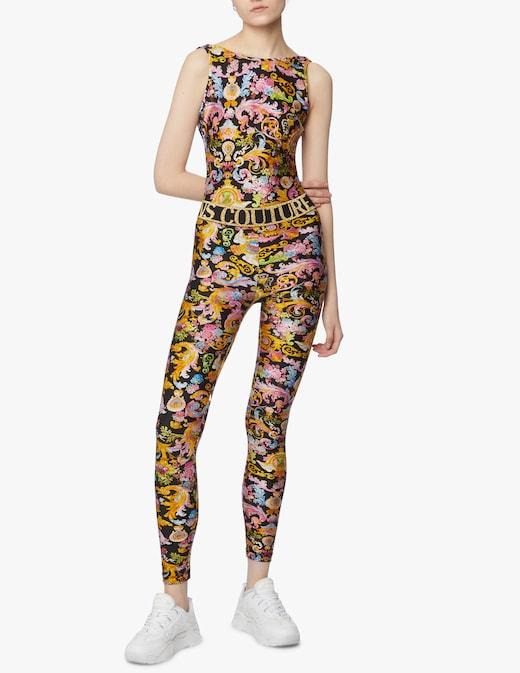 rinascente Versace Jeans Couture Body senza maniche