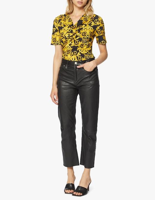 rinascente Versace Jeans Couture Body con stampa barocca