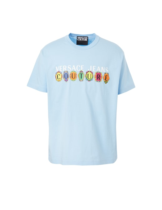 rinascente Versace Jeans Couture Istitutional logo t-shirt