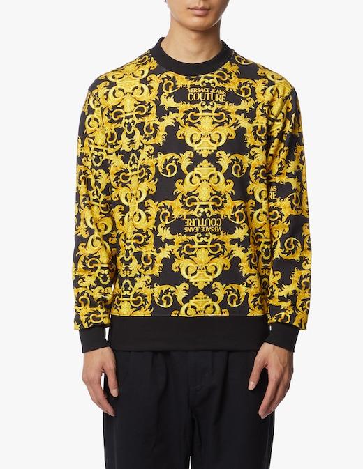 rinascente Versace Jeans Couture Sweatshirt baroque print