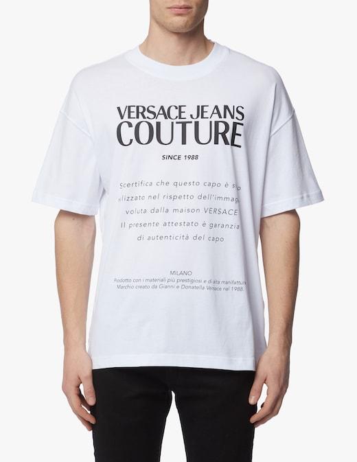 rinascente Versace Jeans Couture Macro logo t-shirt