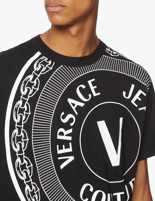 rinascente Versace Jeans Couture Maglietta girocollo veblem centrered