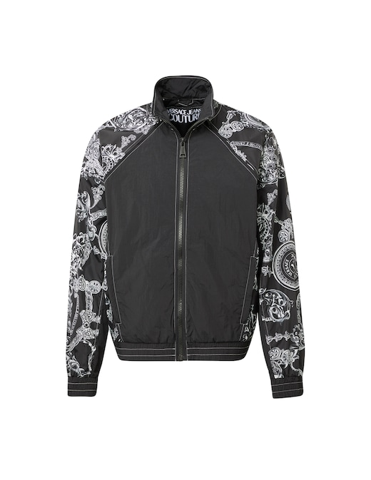 rinascente Versace Jeans Couture Baroque nylon track jacket