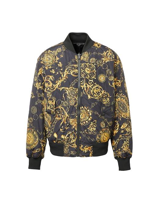 rinascente Versace Jeans Couture Baroque bijoux reversible bomber jacket