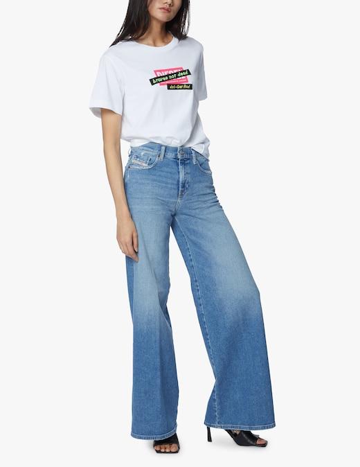 rinascente Diesel Jeans a gamba larga D-Akemi