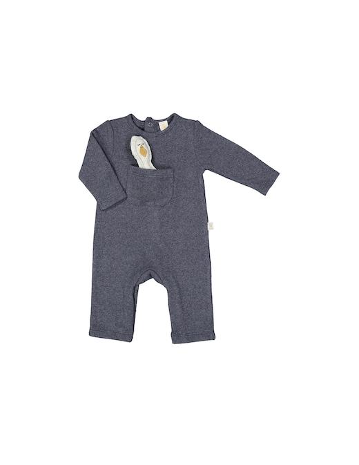 rinascente Filobio Tutina con tasca e piccolo anito
