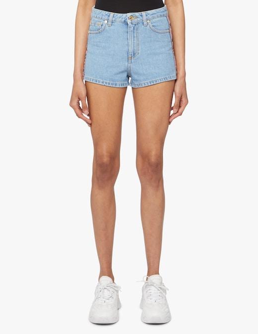 rinascente Chiara Ferragni Pantaloni corti di jeans logomania